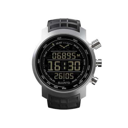 Ceas Suunto Elementum Terra Black Rubber Dark Display Argintiu